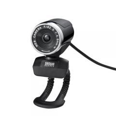WEBカメラ(200万画素・フルHD対応・ブラック)
