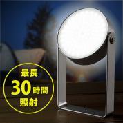【アウトレット】防水LEDライト(電池容量7800mA・USB充電式・720ルーメン・三脚固定・多目的ライト)