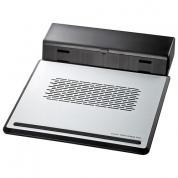 ノートPCクーラー(12.1型ワイド~14.1型ワイド・熱暴走対策・大型収納BOX付き)