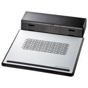 ノートPCクーラー(12.1型ワイド~14.1型ワイド・14.1Wまで・USB電源タイプ・熱暴走対策)