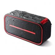 Bluetoothスピーカー(ポータブル・防水&防塵対応・Bluetooth4.2・microSD対応・6W・レッド)
