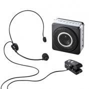 ポータブル拡声器スピーカー(ワイヤレス・小型・ハンズフリー・セミナー・講演・イベント・18W)