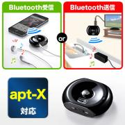Bluetoothオーディオレシーバー&トランスミッター(受信機&送信機・apt-x対応)