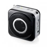 ワイヤレス拡声器(ワイヤレスマイク スピーカーセット・ポータブル・ハンズフリー・小型・拡声器・10W・最大20m)